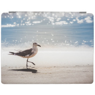 Seagull Walking on Virginia Beach iPad Cover