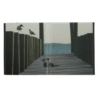 Seagulls and Sunset on The Docks iPad Cases