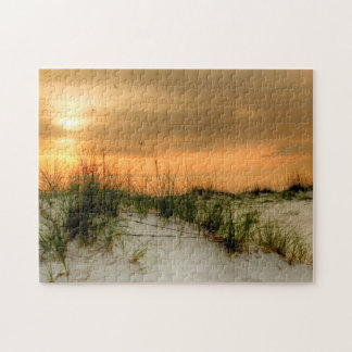 Seagulls at Sunrise Jigsaw Puzzle