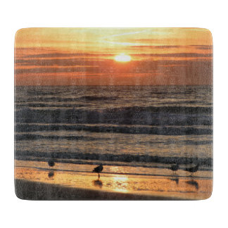 Seagulls at Sunset Cutting Boards