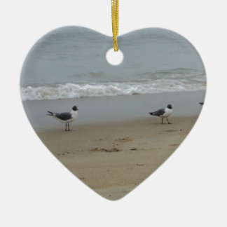 Seagulls Christmas Ornament