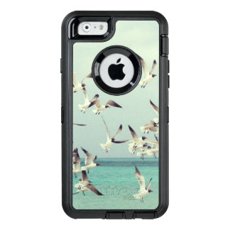 Seagulls Flying Over Water of Beautiful Beach OtterBox iPhone 6/6s Case