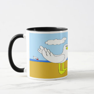 Seagulls In Love Mug