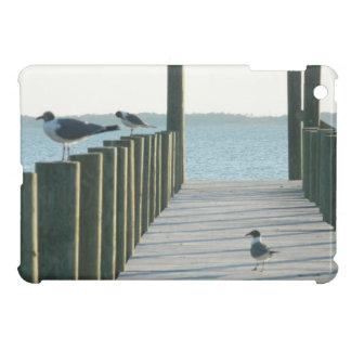 Seagulls on The Docks iPad Mini Cover