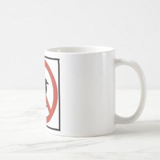 Seagulls Prohibited Coffee Mug
