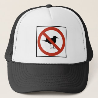 Seagulls Prohibited Trucker Hat