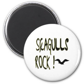 Seagulls Rock Magnet