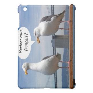 Seagulls speak French iPad Mini Cases