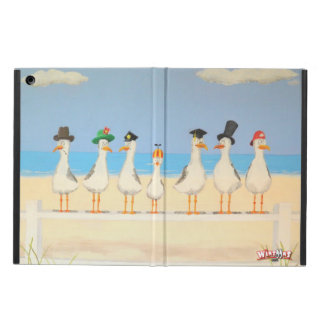 Seagulls with Hats iPad Air Case
