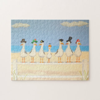 Seagulls with Hats Puzzle