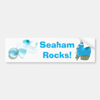 Seaham Rocks! Bumper Sticker