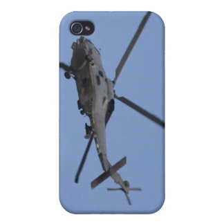 Seahawk helicopter side case for iPhone 4