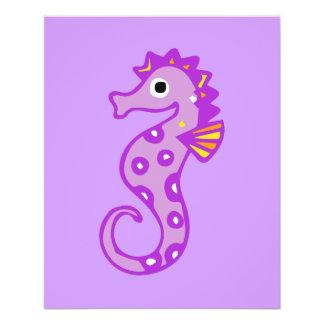 seahorse-313946 CARTOON CUTE seahorse fish ocean a Full Color Flyer