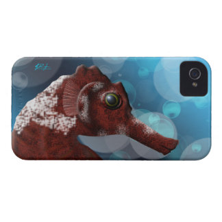 Seahorse and Bubbles iPhone 4/4S Cover