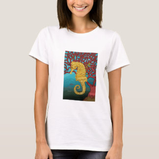 Seahorse and coral T-Shirt