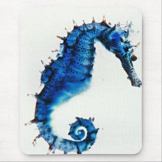 Seahorse art design Mousepad