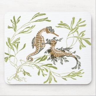 Seahorse Art Mouse Mat