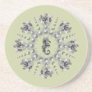 Seahorse Bubbles Coaster