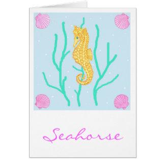 Seahorse Card