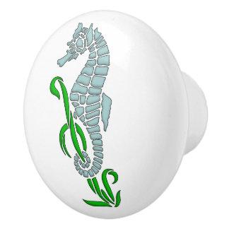 Seahorse Ceramic Knob