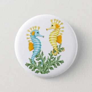 Seahorse Fantasy 6 Cm Round Badge