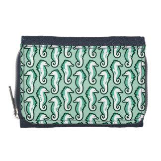 Seahorse Frolic Wallet - Green