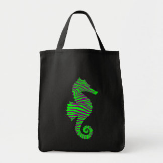 Seahorse Grocery Tote Bag