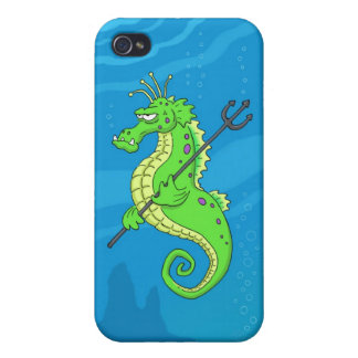Seahorse Guard iPhone 4 Case