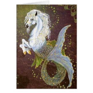 Seahorse Hippocampus Card