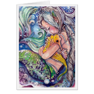 SeaHorse Hugs Card