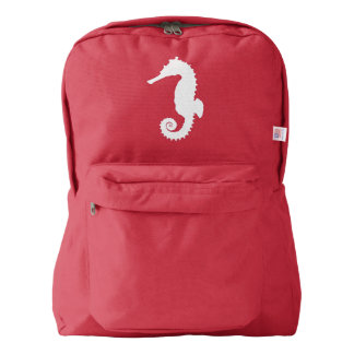 Seahorse in Silhouette Backpack