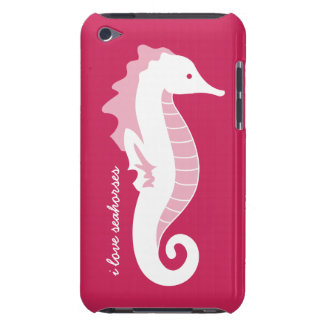 Seahorse iPod Touch Case-Mate Barely There - Pink