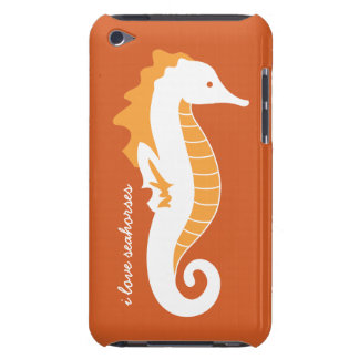 Seahorse iPod Touch CaseMate Barely There - Orange Barely There iPod Cases