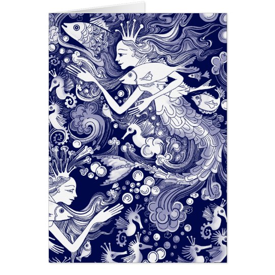 Seahorse kingdom card