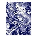Seahorse kingdom postcards