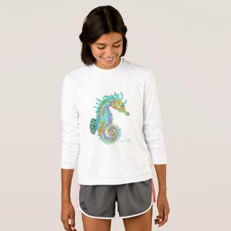 Seahorse long sleeve tee shirt.