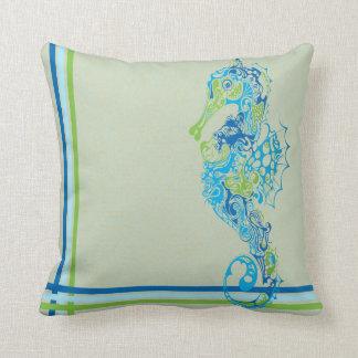 Seahorse Pillow Design
