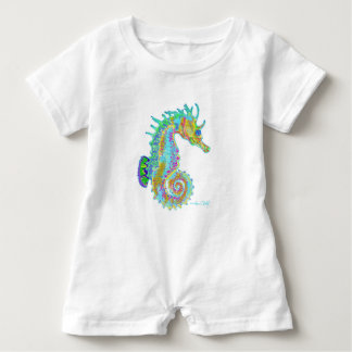 Seahorse Romper Baby Bodysuit