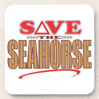 Seahorse Save Coaster