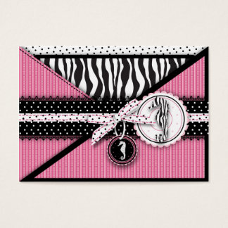 Seahorse Sensation Pink Reminder Card