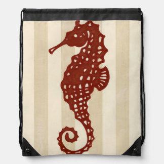 Seahorse Silhouette Rucksack