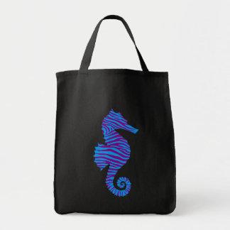 Seahorse Grocery Tote Bag