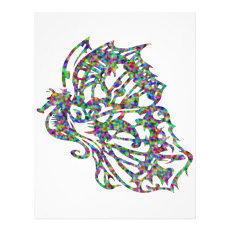 Seahorse w/ Butterfly Wings 21.5 Cm X 28 Cm Flyer
