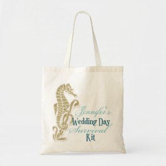 Seahorse Wedding Day Survival Kit Bag