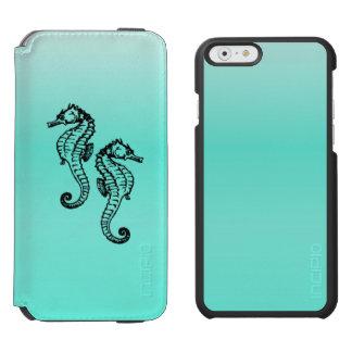 Seahorses Aqua Incipio Watson™ iPhone 6 Wallet Case