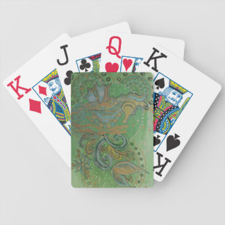 Seahorses Bicycle Playing Cards