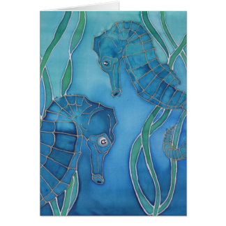 Seahorses Card