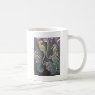 seahorses coffee mug