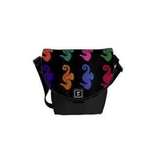 Seahorses Messenger Bags