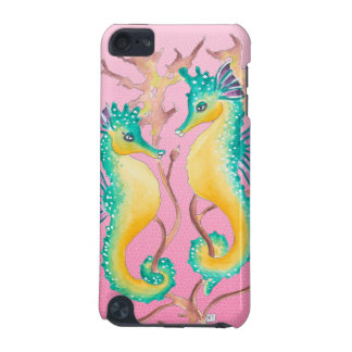 seahorses pink stained glass iPod touch (5th generation) cover
